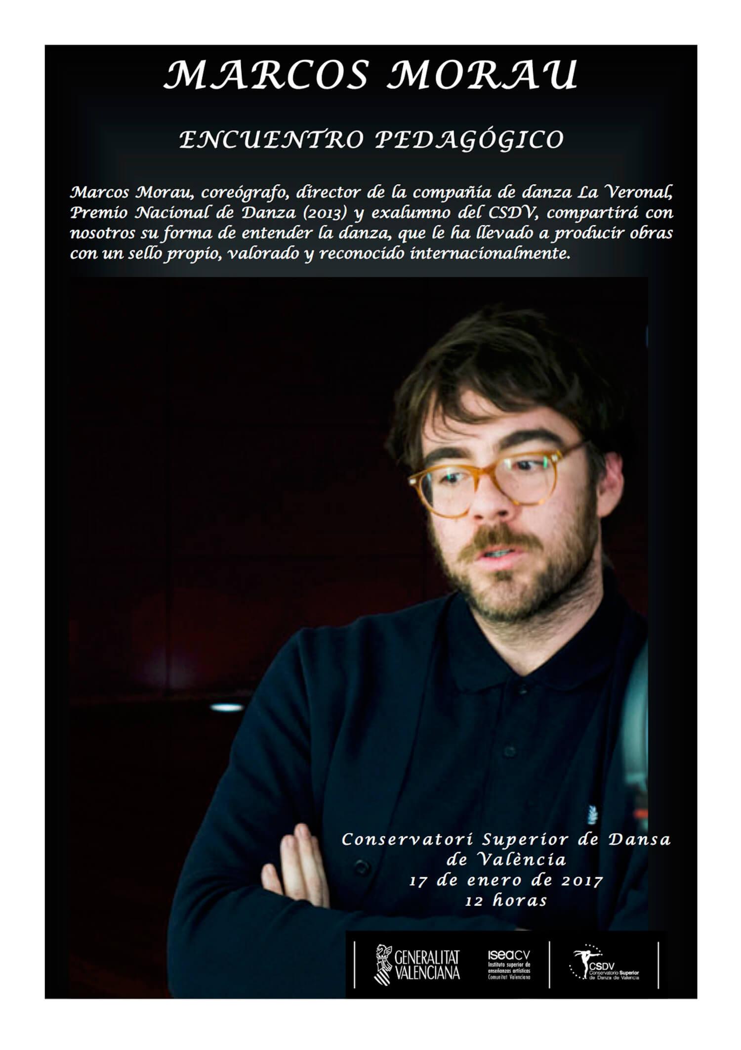Encuentro pedagógico Marcos Morau