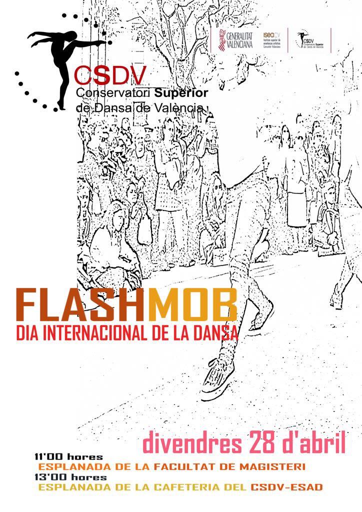 Flashmob en Magisterio
