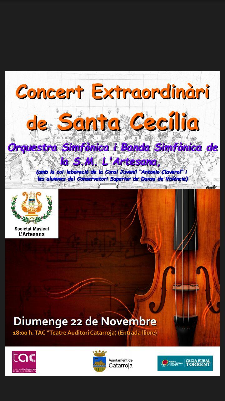 Concert Extraordinári Santa Cecília