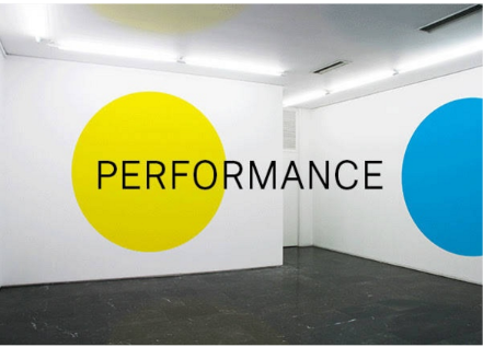 Performance en galeria