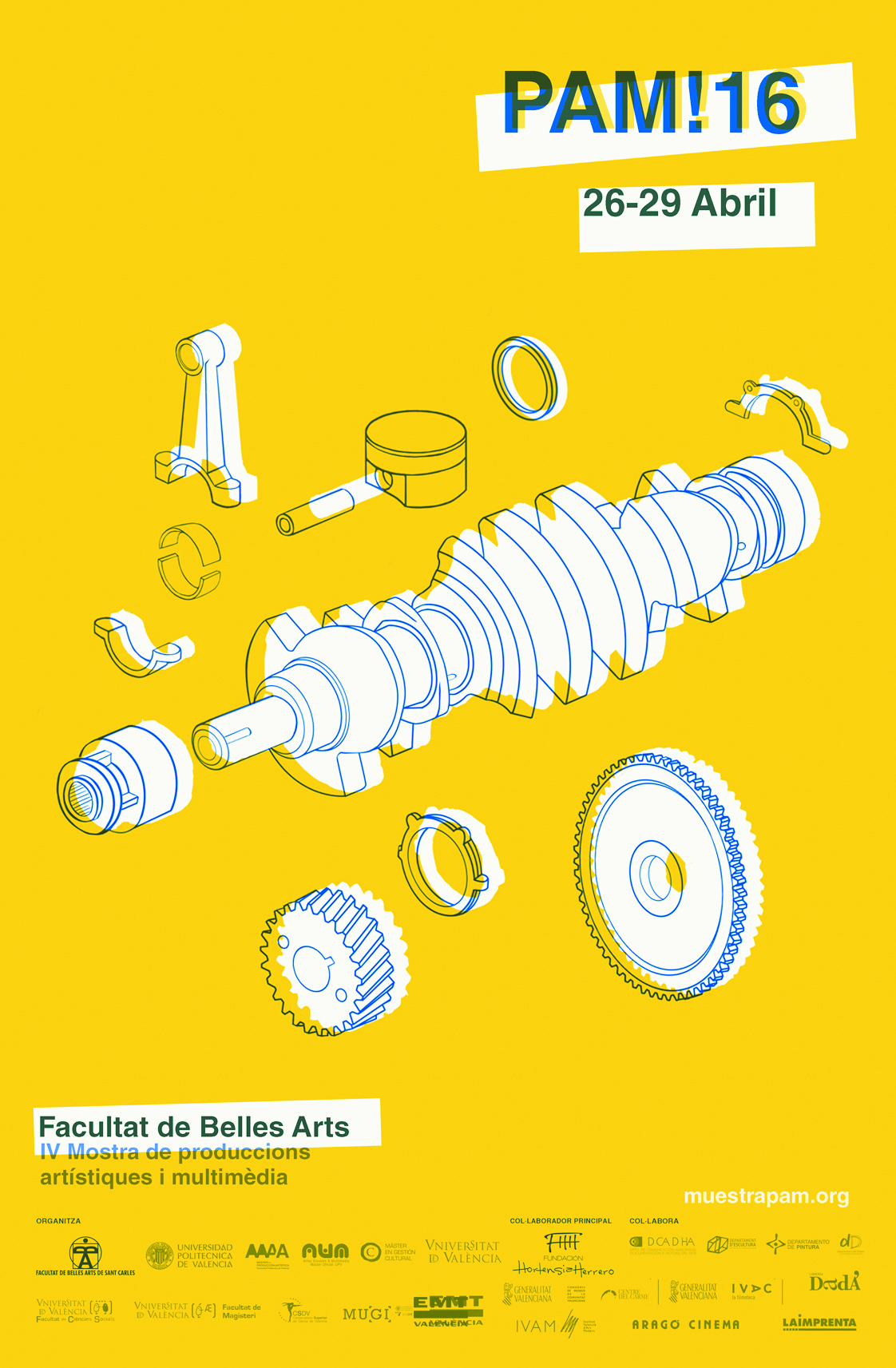 Colaboración PAM en Bellas Artes