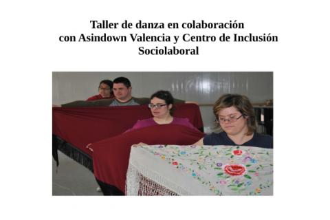 Taller danza Asociación Asindown