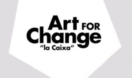Convocatoria Art for change. La Caixa