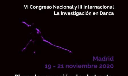 VI Congreso Nacional y III InternacionalLa Investigación en Danza. 2020