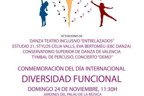 """Colaboración """"Día Internacional Diversidad Funcional"""""""