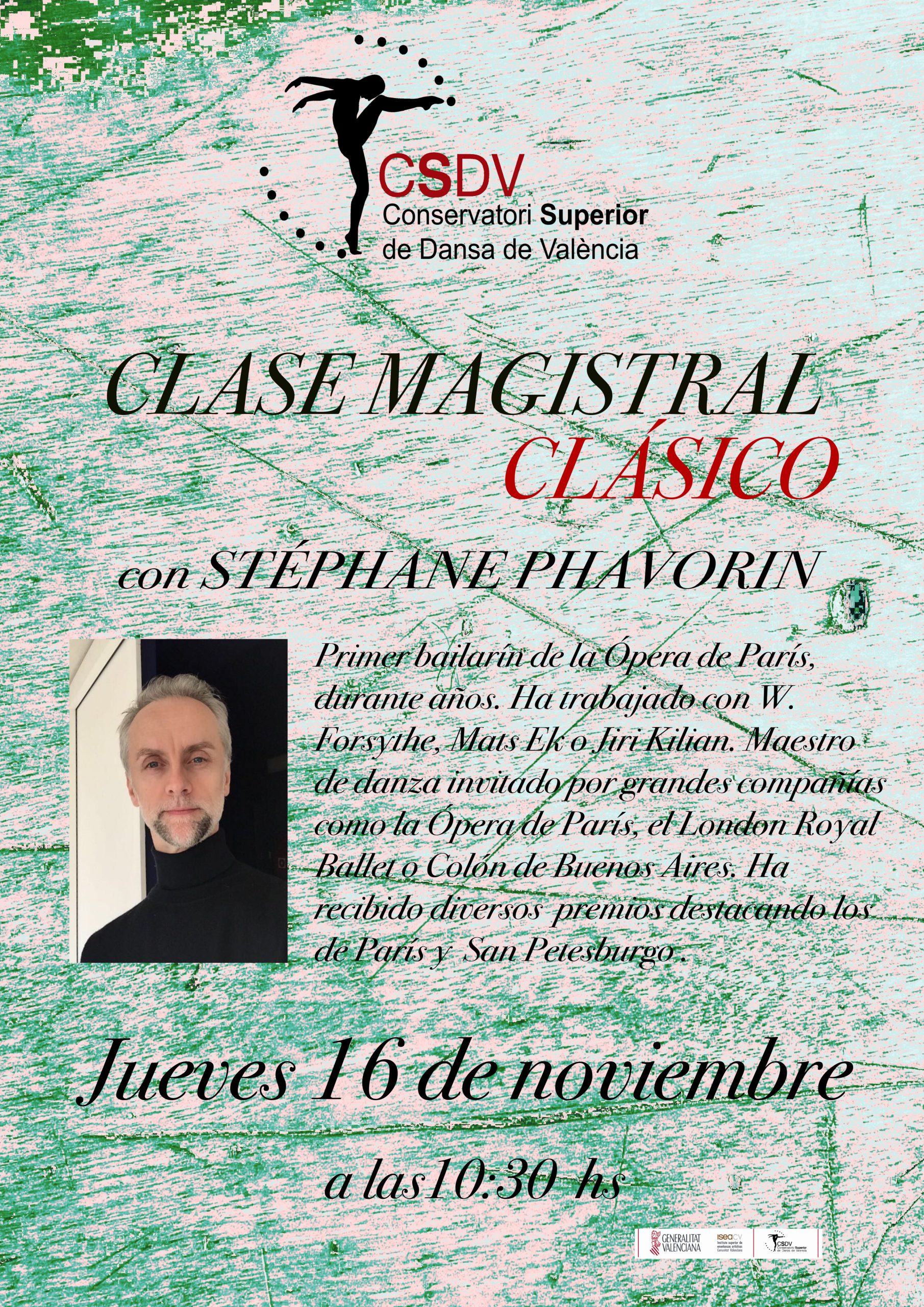Clase Magistral Stéphane Phavorin