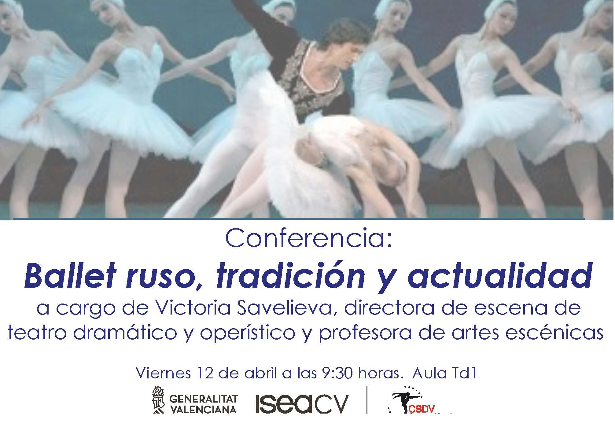 Conferencia Victoria Savelieva