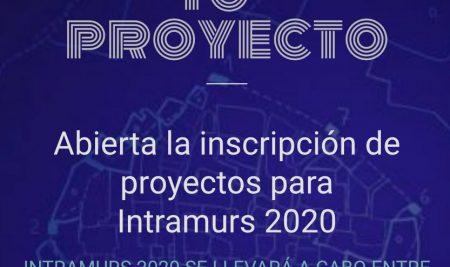 Inscripción de proyectos para Intramurs 2020