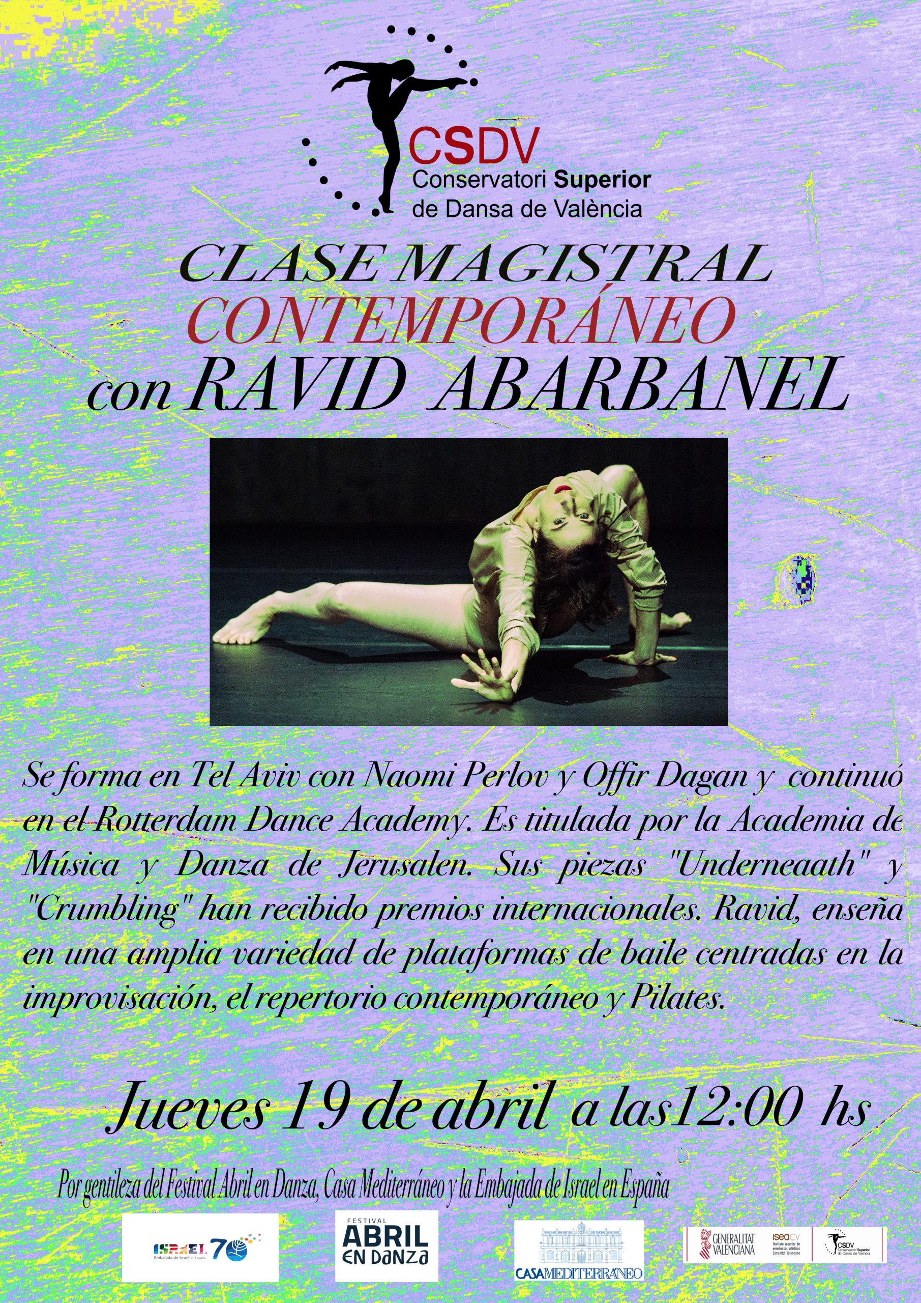 Clase Magistral Ravid Abarbanel