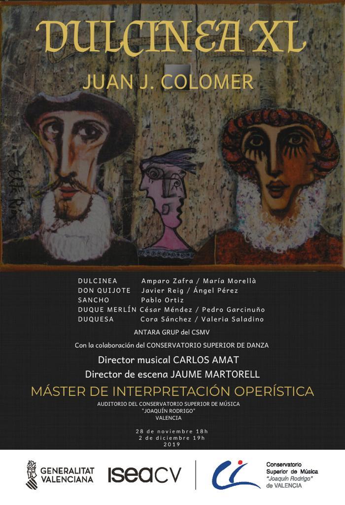 Colaboración Ópera Dulcinea XL